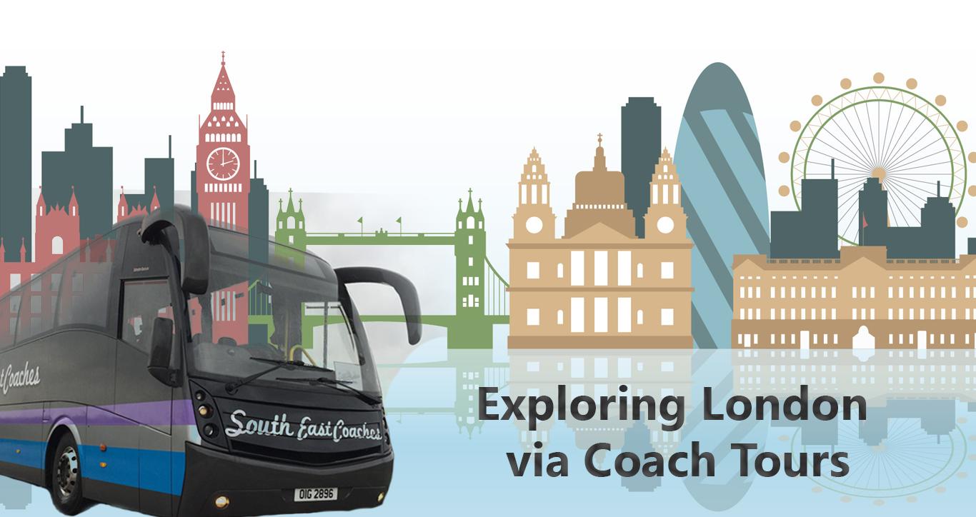 exploring london via coach tours
