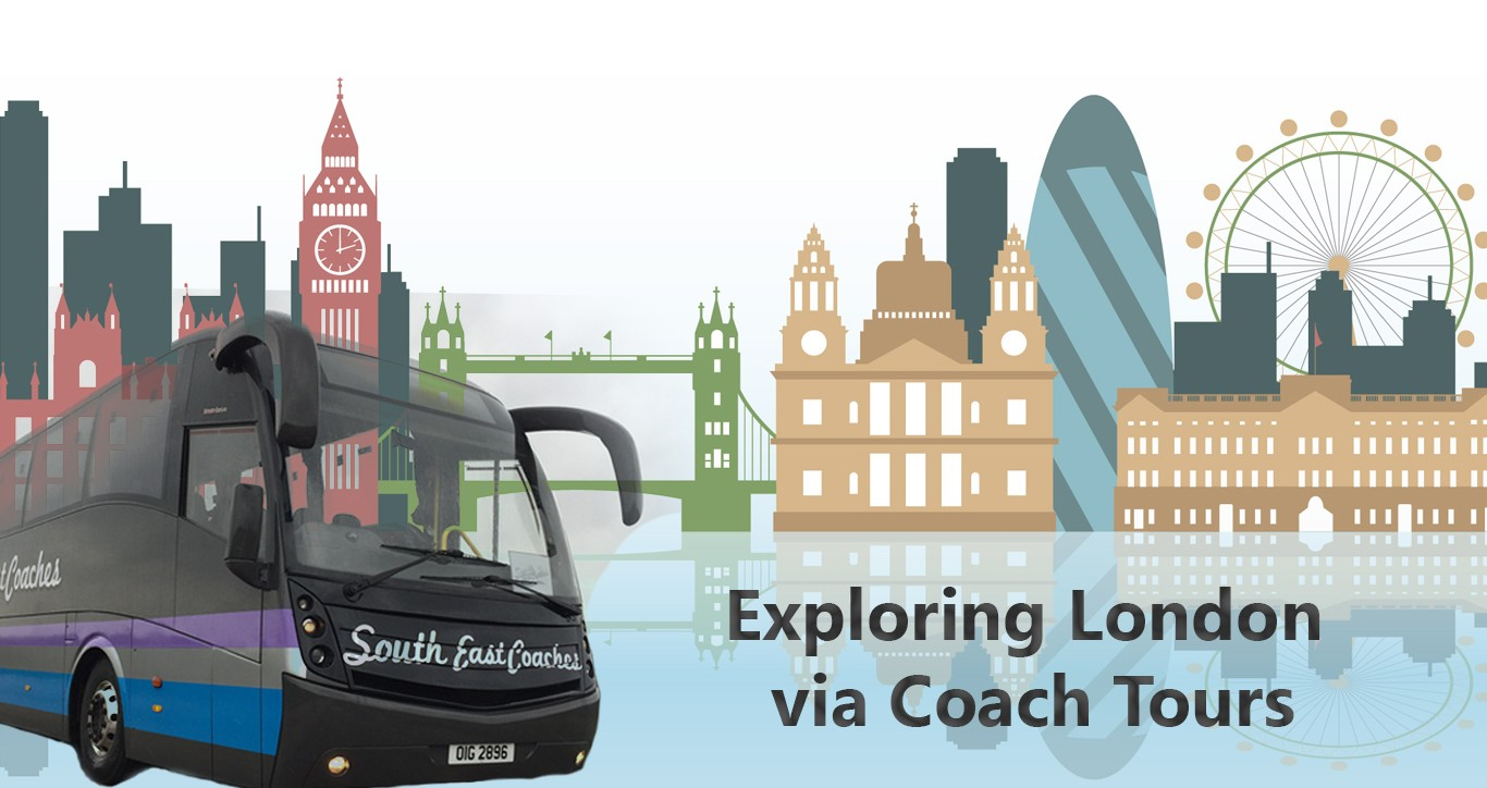 exploring london via coach tours